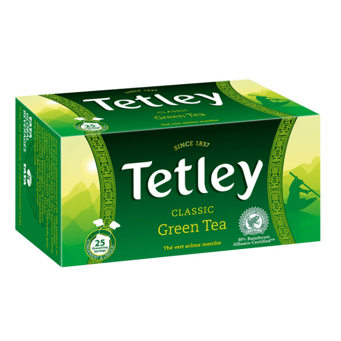 Tetley classic zöld tea 37,5g
