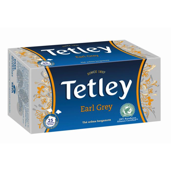 Tetley earl grey fekete tea 50g