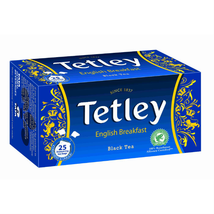Tetley english breakfast fekete tea 50g