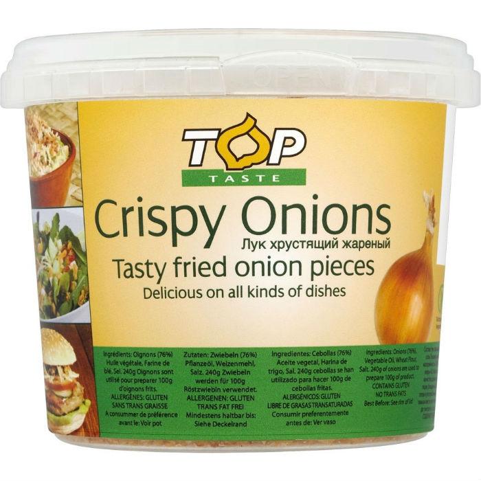TopTaste crispy onions 100g
