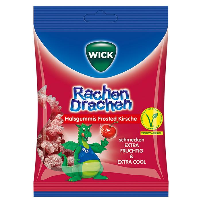 WICK-RachenDrachen-cseresznye-75g