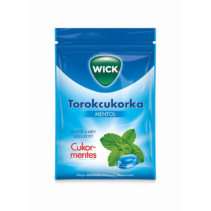 WICK-Torokcukorka-Mentol-72g